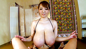 Hitomi Mamma Fucks Him Liking for Not at any time Before