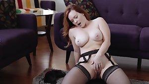 cock up off encouragement redhead big titties