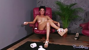 Kinky Milf Jess Scotland Tv Performance Facial