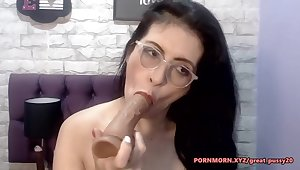 Big tits mature hardcore entering dildo in pussy